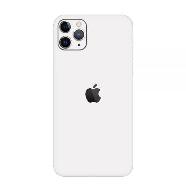 Skin Alb Mat iPhone 11 Pro / 11 Pro Max