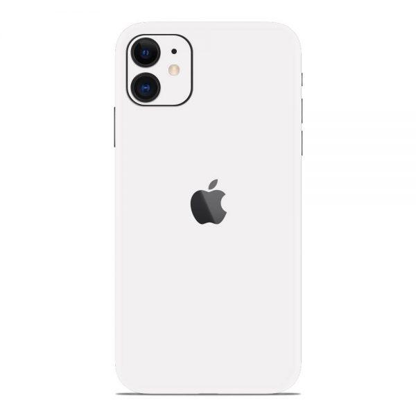 Skin Alb Mat iPhone 11