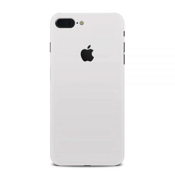 Skin Alb Mat iPhone 7 Plus / iPhone 8 Plus