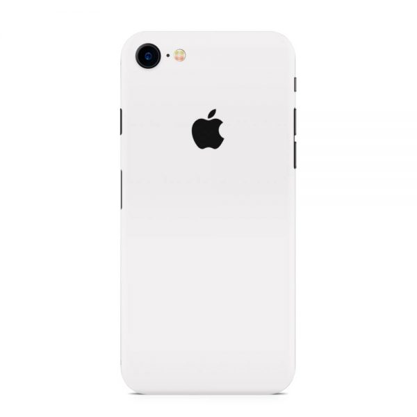 Skin Alb Mat iPhone 7 / iPhone 8