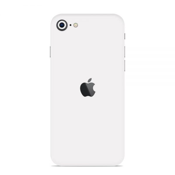Skin Alb Mat iPhone SE (2020)