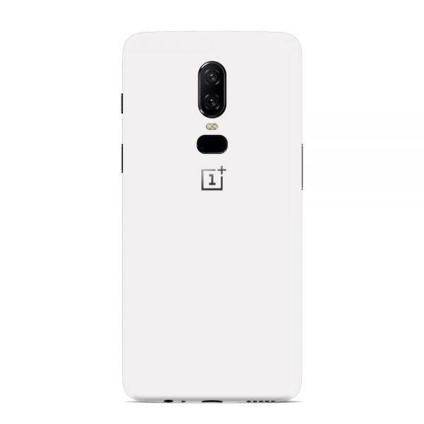 Skin Alb Mat OnePlus 6