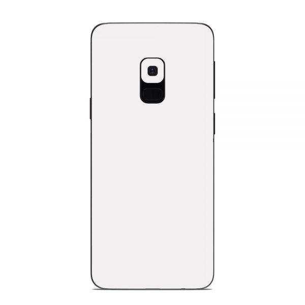 Skin Alb Mat Samsung Galaxy S9