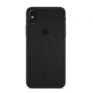 Skin Black Titanium iPhone X / Xs / Xs Max