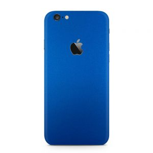 Skin Metal Albastru Mat iPhone 6 / 6s / 6 Plus / 6s Plus
