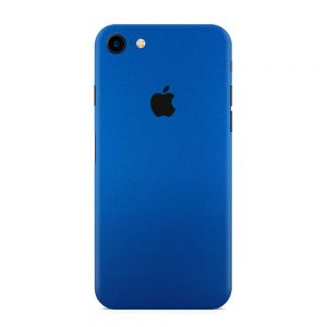 Skin Metal Albastru Mat iPhone 7 / 8