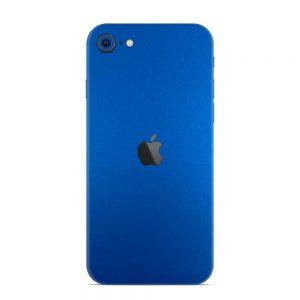 Skin Metal Albastru Mat iPhone SE (2020)
