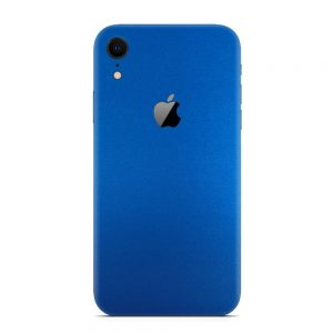 Skin Metal Albastru Mat iPhone 11 Xr