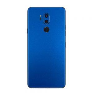 Skin Metal Albastru Mat LG G7