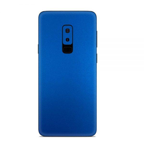 Skin Metal Albastru Mat Samsung Galaxy S9 Plus