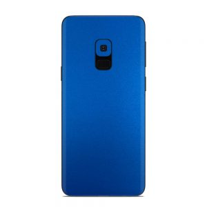Skin Metal Albastru Mat Samsung Galaxy S9