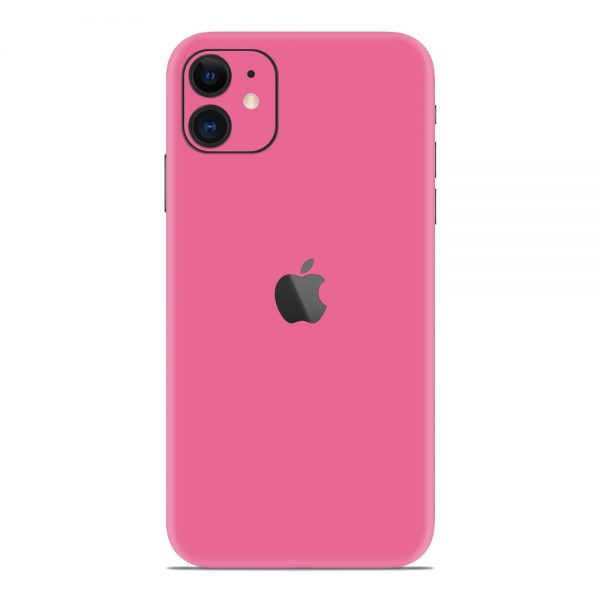 Skin Roz Mat iPhone 11