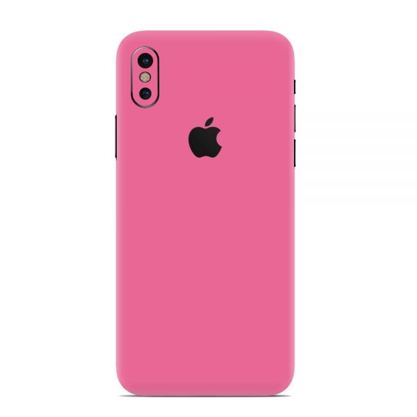 Skin Roz Mat iPhone X / Xs / Xs Max