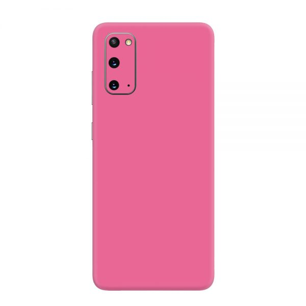 Skin Roz Mat Samsung Galaxy S20