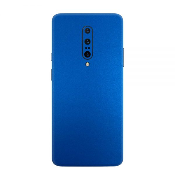 Skin Metal Albastru Mat OnePlus 7 Pro