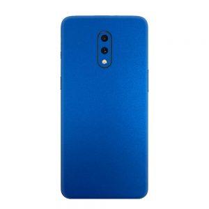 Skin Metal Albastru Mat OnePlus 7