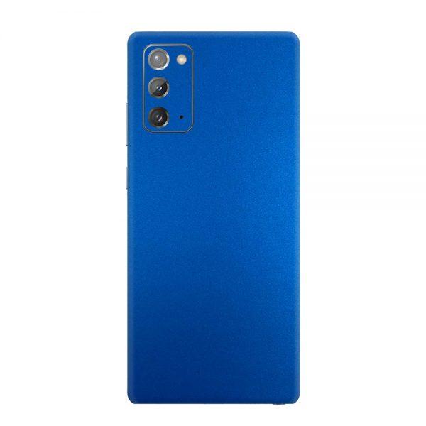 Skin Metal Albastru Mat Samsung Galaxy Note 20