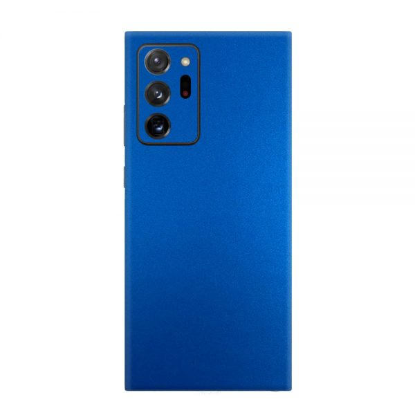 Skin Metal Albastru Mat Samsung Galaxy Note 20 Ultra