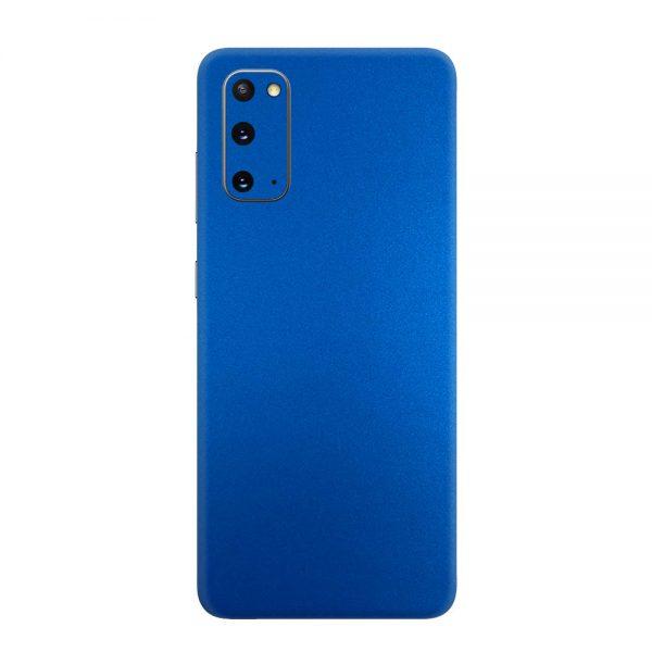 Skin Metal Albastru Mat Samsung Galaxy S20