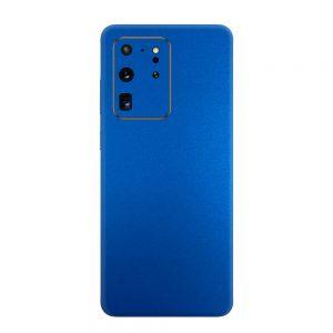 Skin Metal Albastru Mat Samsung Galaxy S20 Ultra