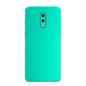 Skin Crom Verde Smarald Mat OnePlus 7