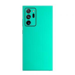 Skin Crom Verde Smarald Mat Samsung Galaxy Note 20 Ultra