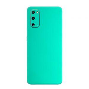 Skin Crom Verde Smarald Mat Samsung Galaxy S20