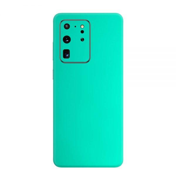 Skin Crom Verde Smarald Mat Samsung Galaxy S20 Ultra