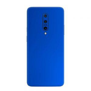 Skin Crom Albastru Mat OnePlus 7 Pro