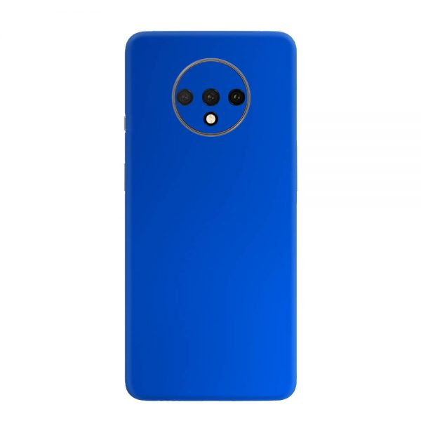 Skin Crom Albastru Mat OnePlus 7T