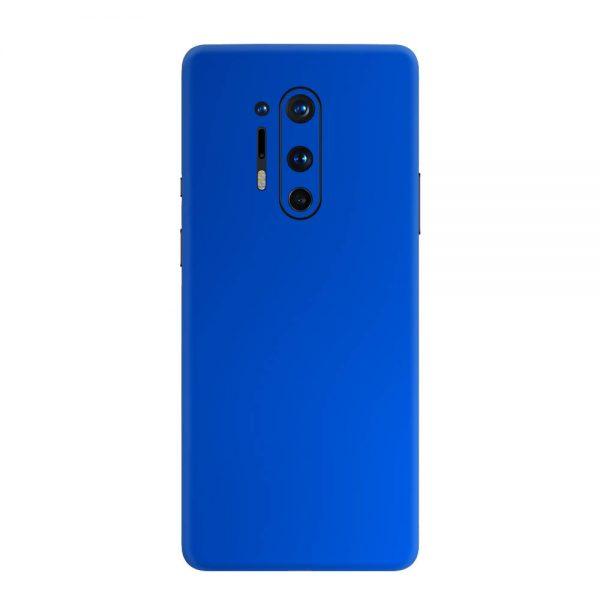Skin Crom Albastru Mat OnePlus 8 Pro