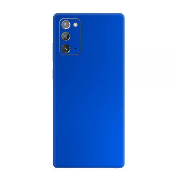 Skin Crom Albastru Mat Samsung Galaxy Note 20