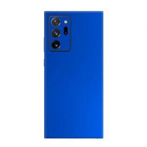 Skin Crom Albastru Mat Samsung Galaxy Note 20 Ultra