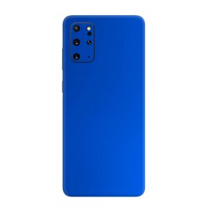 Skin Crom Albastru Mat Samsung Galaxy S20 Plus