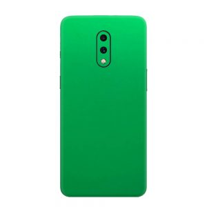 Skin Crom Verde Mat OnePlus 7