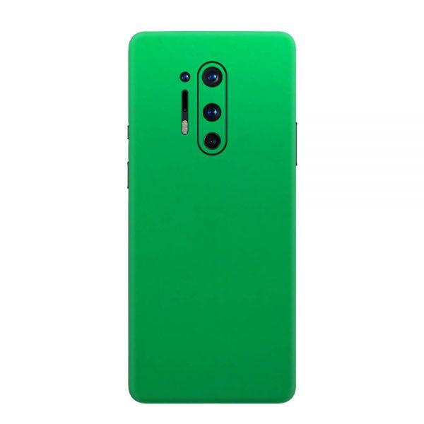 Skin Crom Verde Mat OnePlus 8 Pro