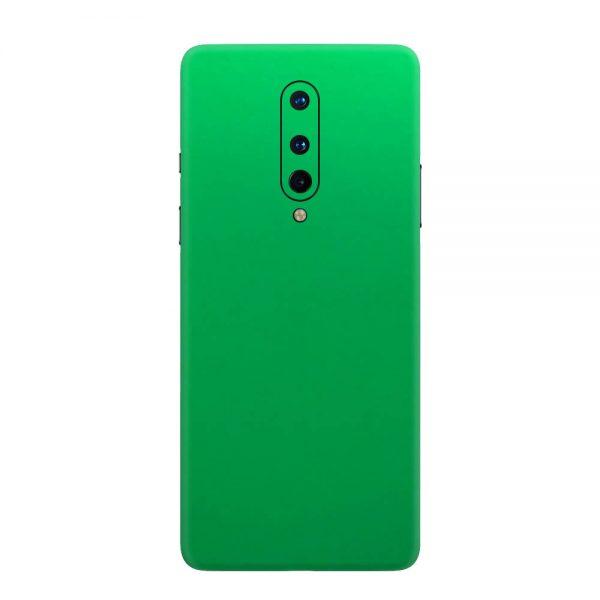 Skin Crom Verde Mat OnePlus 8