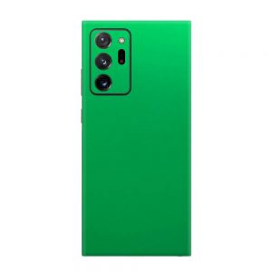 Skin Crom Verde Mat Samsung Galaxy Note 20 Ultra