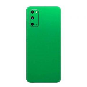 Skin Crom Verde Mat Samsung Galaxy S20