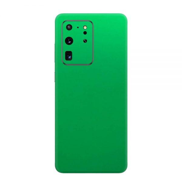 Skin Crom Verde Mat Samsung Galaxy S20 Ultra