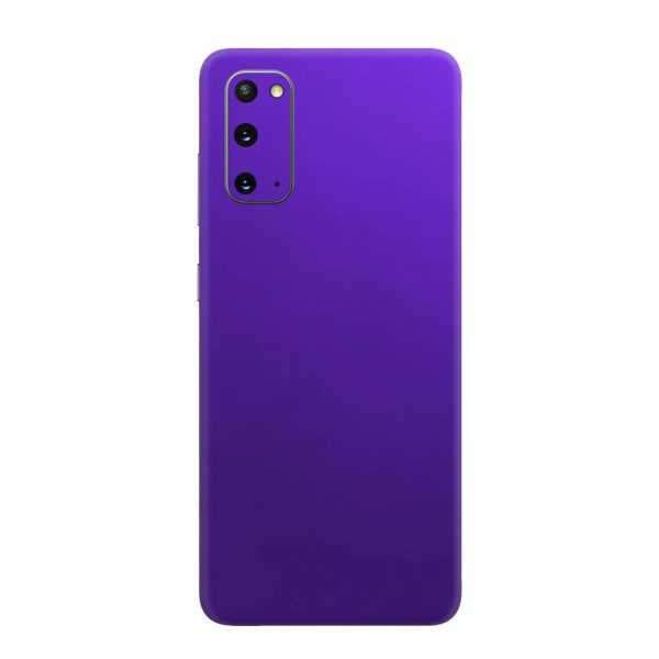 Skin Crom Violet Mat Samsung Galaxy S20