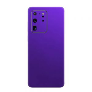 Skin Crom Violet Mat Samsung Galaxy S20 Ultra