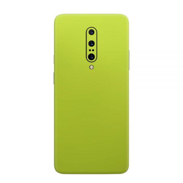 Skin Crom Galben Verzui Mat OnePlus 7 Pro