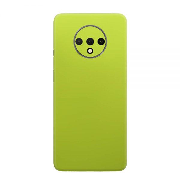 Skin Crom Galben Verzui Mat OnePlus 7T
