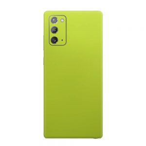 Skin Crom Galben Verzui Mat Samsung Galaxy Note 20