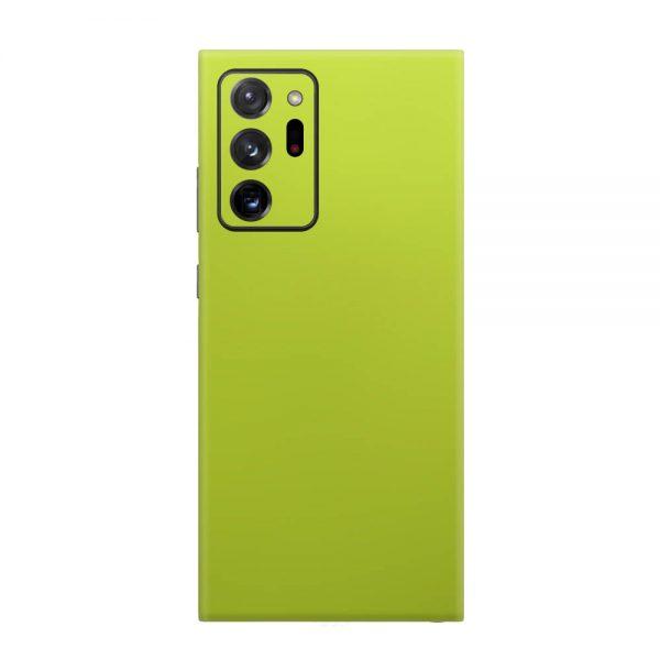 Skin Crom Galben Verzui Mat Samsung Galaxy Note 20 Ultra