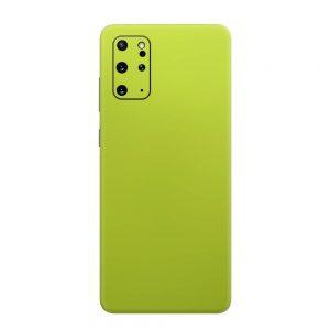 Skin Crom Galben Verzui Mat Samsung Galaxy S20 Plus