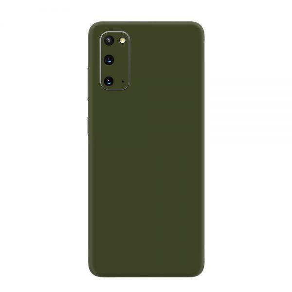 Skin Nato Green Mat Samsung Galaxy S20