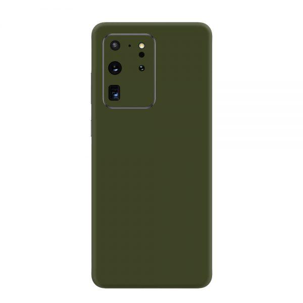 Skin Nato Green Mat Samsung Galaxy S20 Ultra