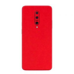 Skin Roșu Mat OnePlus 7 Pro